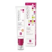 Andalou Naturals - 1000 Roses CC Sheer Tan SPF30 - Packaging of 58 ml