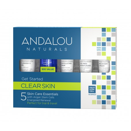 Clear Skin with Argan Stem Cells