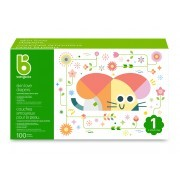 Babyganics - Diapers - Size 1 Box - Packaging of 100 ct