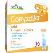 Boiron - Coryzalia Cold - Packaging of 30 x1ml