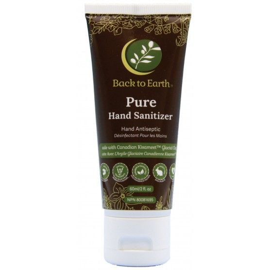 Back to Earth - Pure Hand Sanitizer - Packaging of 60ml