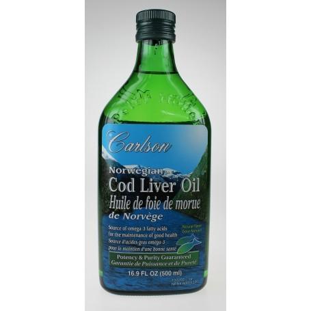 Norwegian Cod Liver Oil Liquid