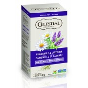 Celestial Tea - Organic Chamomile Lavender - Packaging of 6X18 count