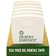 Desert Essence - Tea Tree Dental Tape - Packaging of 6 x 30 yrds