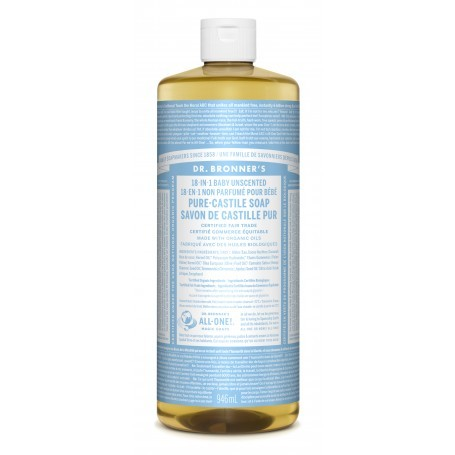 Biodegradable Organic Pure Castile Liquid Soaps