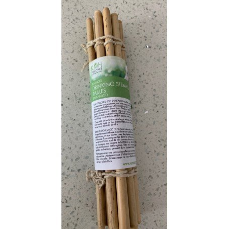 all natural drinking straw