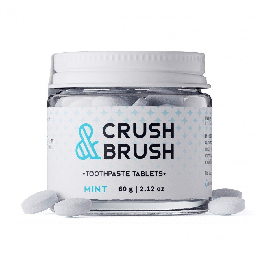 Toothpaste Tablets - Crush & Brush