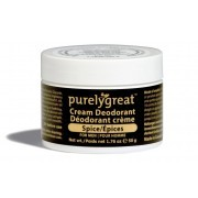 Purelygreat - Cream Deodorant - Spice - Packaging of 50g