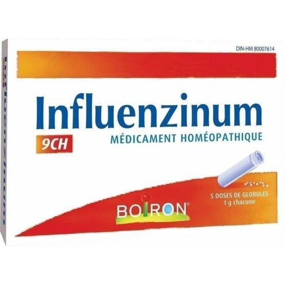 Boiron Influenzinum 9ch pour 14,34CA
