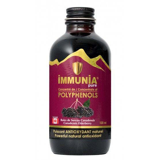Fruitomed - Immunia Pure - Extrait concentré baies de sureau canadensis – Antioxydant