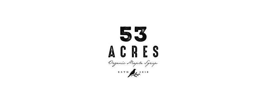 53 Acres - Maple Sweeteners